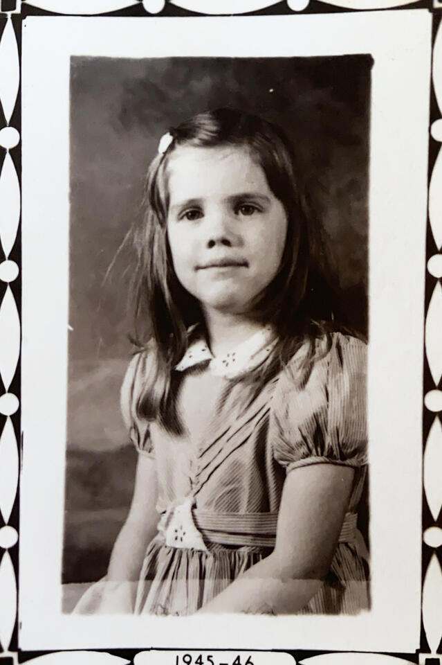 Ellen at 5 years old
